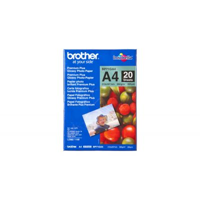 Paber Brother A4 Glossy Photo Paper, 260gr/m2, 20 lehte, Brother Innobella Premium Plus