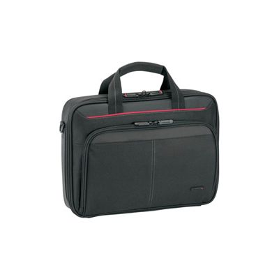 Sülearvuti kott Targus CN313 Clamshell case 13,3'' sülearvutile, black/red nylon