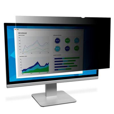 Ekraanifilter 3M PF26,0 350x560mm 16:10 WideScreen must andmekaitsefilter/privaatfilter 26´´