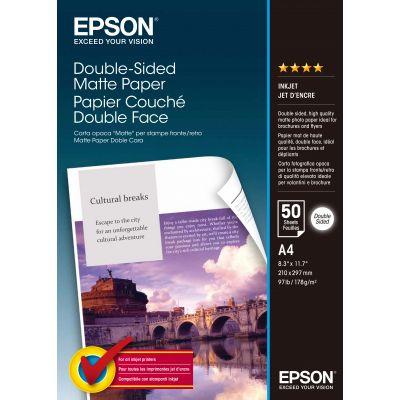 Paber Epson Double Sided Matte A4/50l 178gr