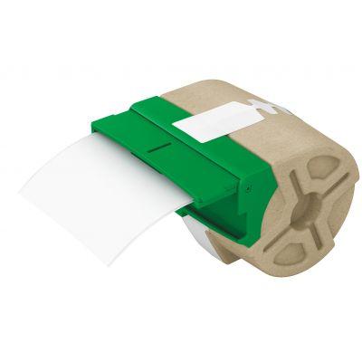 Kleebiste kassett Leitz Icon jooksev lint 88mm x 10m valge plastikteip - iseliimuv värviline plastiketikett