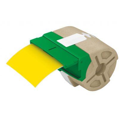 Kleebiste kassett Leitz Icon jooksev lint 88mm x 10m kollane plastikteip - iseliimuv värviline plastiketikett