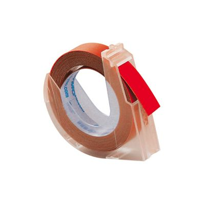 Reljeefkirjamasina lint 12mm punane