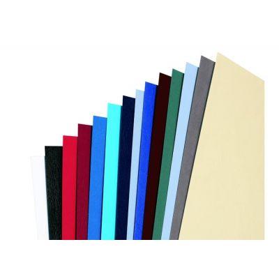 Köitekartong A4 valge, reljeefne 250gr, (pakis 100 lehte) GBC LeatherGrain Binding Covers White