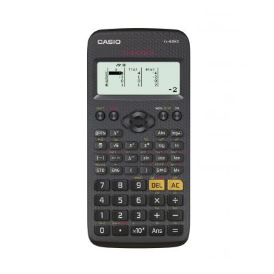 Koolikalkulaator Casio FX-82EX ClassWiz - naturaalne mitmerealine maatriksekraan, 274 funktsiooni, AAA patarei