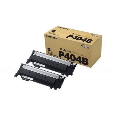 Tooner Samsung CLT-P404B Black Twin Pack 2x1500pg Toner for SL-C430/W SL-C480/W/FN/FW,C483W