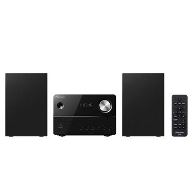 Pioneeri CD/USB stereosüsteem (must) X-EM16-B