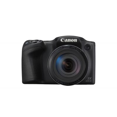 Digikaamera Canon Powershot SX430 Black/must 20Mpix 45x opt suum (24–1080mm), 720p video, WiFi/NFC