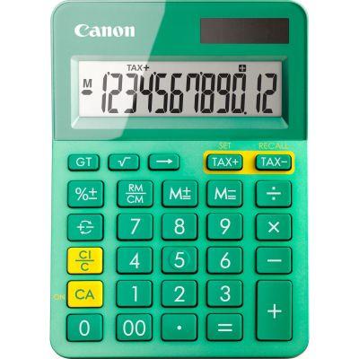 Kalkulaator Canon LS-123K-MTQ turquoise (türkiis) - 12 numbrikohta