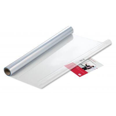 Tahvlikile Elektrostaatiline Nobo, läbipaistev/clear, 60cm lai / 80cm järel perforatsioon (rebitav leht 60x80cm)