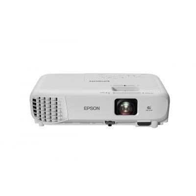 Multimeediaprojektor Epson EB-W05 WXGA 16:10 1280x800 3300ANSI 2,5kg 15000:1 USB HDMI