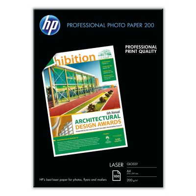 Paber HP CG966A Professional Glossy Laser Photo Paper A4/100lehte 200gr/m2
