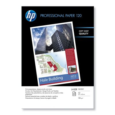 Paber HP CG969A Professional Glossy Laser Paper A3 120g/m2 250sheet 297x420mm