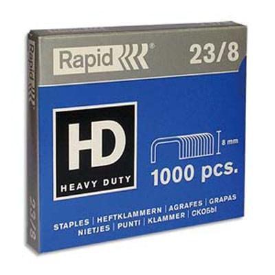 Klambrid 23/8mm,1000tk/pk, 5-45 lehte, Rapid