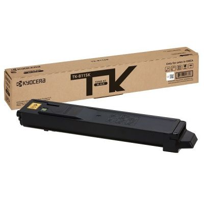 Tooner Kyocera TK-8115K must (12 000 lk) - ECOSYS M8124cidn, M8130cidn