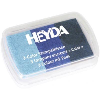 Templipadi 3värvi, sinised, Heyda