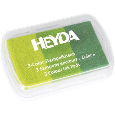 Templipadi 3värvi, rohelised, Heyda