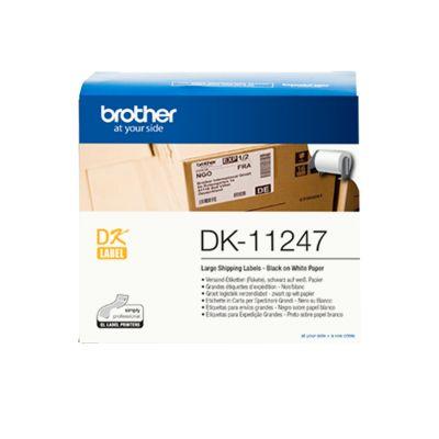 Kleepkirjalint Brother DK11247, kleebised 103x164mm, 180 kleebist