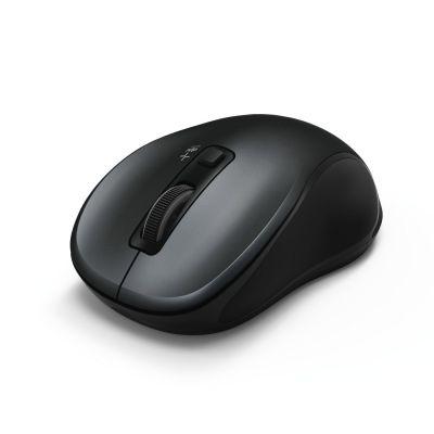 Hiir Hama Canosa Bluetooth3.0 anthracite/must, 800-1600DPI, wireless 8m, Win/Mac/Android, 1xAA patarei