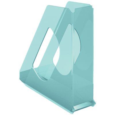 Dokumendikast 72x256x260mm läbipaistev sinine Esselte Color Ice