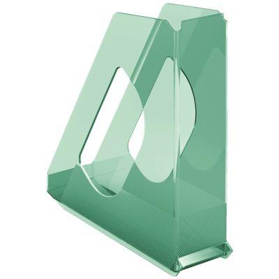 Dokumendikast 72x256x260mm läbipaistev roheline Esselte Color Ice