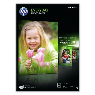 Paber HP Q2510A A4 100l 200gr Everyday Photo Glossy