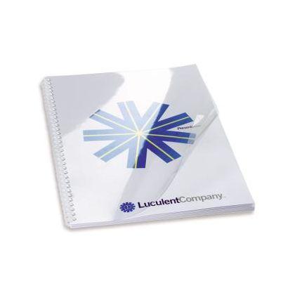 Köitekile A4 0,3mm läbipaistev värvitu esikile 300micronit / pakk (pakis 100 lehte)