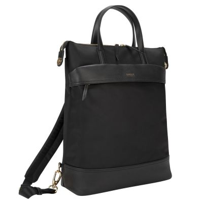 Sülearvuti seljakott Targus TSB948GL Newport Convertible 2-1 15inch Notebook carrying backpack/tote 600gr 37x38x12cm black/must