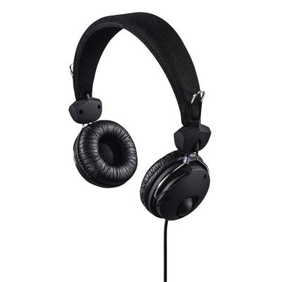 Kõrvaklapid+mikrofon Hama Fun4Phone headphones, on-ear 40mm, black/must, 4-pin 3.5mm Stereo, mikrofon kaablil, kaabel 1.2m