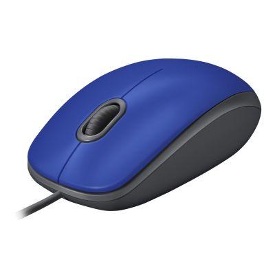 Hiir Logitech M110 Silent Optical Wheel Mouse Blue/sinine USB 3-button garantii 2a