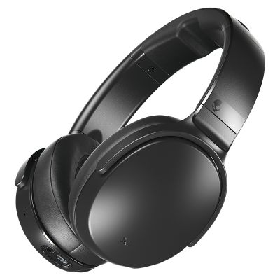 Kõrvaklapid+mikrofon Skullcandy Venue Black Wireless with Active Noise Canceling, Travel Case, 40mm over-ear microUSB AUX