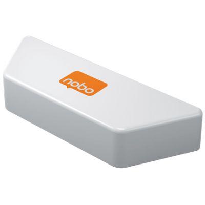 Tahvlipuhastaja NOBO magnetiga, vahetatavate lappidega - Magnetic Whiteboard Eraser white