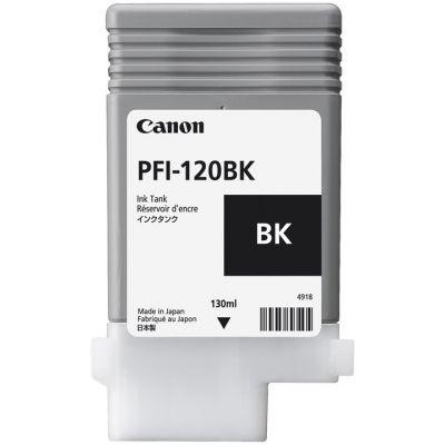 Tint Canon PFI-120Bk black pigmentmust 130ml imagePROGRAF TM-200/TM-205/TM-300/TM-305 MFP T36