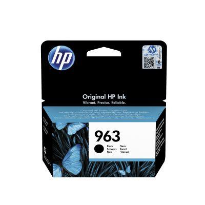 Tint HP 3JA26AE 963 Black/must väike 20.09ml 1000lk for Officejet Pro 9010 9012 9014 9015 9016 9019 9020 9022 9025