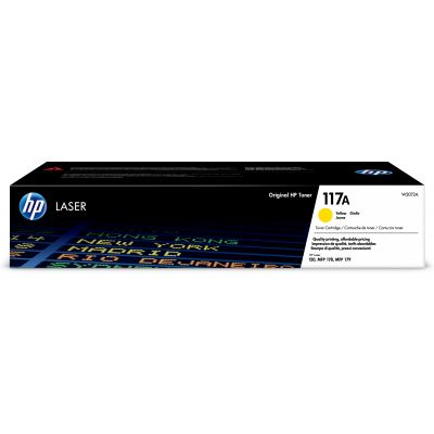 Tooner HP W2072A 117A Yellow 700lk for Color Laser 150a/nw, MFP 178nw/nwg, MFP 179fnw/fwg