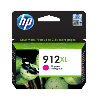 Tint HP 3YL82AE 912XL Magenta suur kuni 825lk Officejet 8012/8013/8014/8015; OJ Pro 8022/8024/8025/8035