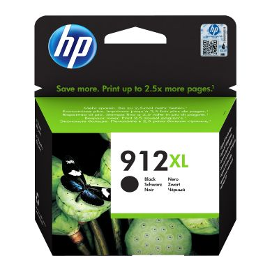 Tint HP 3YL84AE 912XL Black/must suur kuni 825lk Officejet 8012/8013/8014/8015; OJ Pro 8022/8024/8025/8035