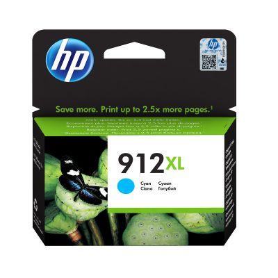 Tint HP 3YL81AE 912XL Cyan suur kuni 825lk Officejet 8012/8013/8014/8015; OJ Pro 8022/8024/8025/8035