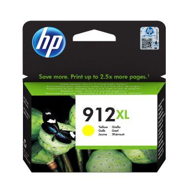 Tint HP 3YL83AE 912XL Yellow/kollane suur kuni 825lk Officejet 8012/8013/8014/8015; OJ Pro 8022/8024/8025/8035