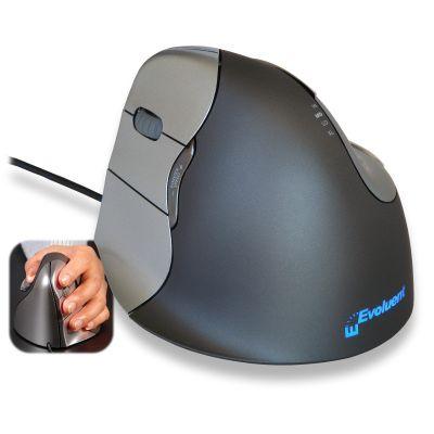 Hiir Evoluent vertical mouse 4 Left hand (vasakukäelistele), ergonoomiline USB-juhtmega hiir, 140gr, kaabel 215cm