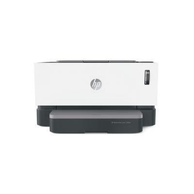 Laserprinter HP NeverStop 1000w must-valge laser A4 - 600x600dpi - 20lk/min - USB 2.0, Wi-Fi(n)