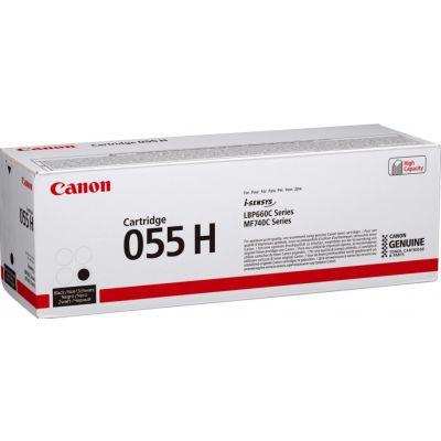Tooner Canon 055HBk black/must suuremahuline 7600lk LBP663Cdw LBP664Cx/Cdw MF742Cdw MF744Cdw MF745Cdw MF746Cx