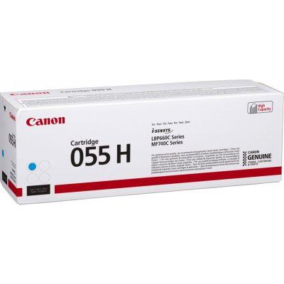 Tooner Canon 055HCyan suuremahuline 5900lk LBP663Cdw LBP664Cx/Cdw MF742Cdw MF744Cdw MF745Cdw MF746Cx