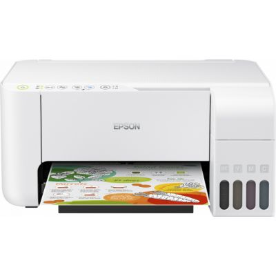 Kontorikombain Epson L3156 Colour, Inkjet, Multifunction Printer, A4, Wi-Fi, White