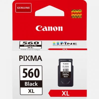 Tint Canon PG-560XL Black XL Ink 400pg Cartridge for PIXMA TS5350 TS5351 TS5352 TS5353