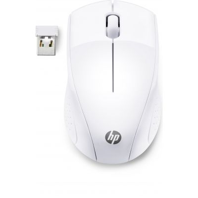 Hiir HP Wireless Mouse 220 White