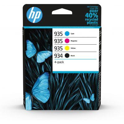 Tint HP 6ZC72AE 934/935 väikesemahulised C/M/Y/K 4-pack Officejet 6812/6815/6820, OJ Pro 6230/6830/6835