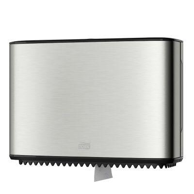 Tork tualettpaberihoidik T2 Mini Jumbo roostevaba (mõõdud 355x254x133mm)