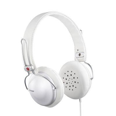 Kõrvaklapid Pioneer SE-MJ151-H (valge) 32oomi, 100-25000Hz, 100dB, 135gr, kaabel 1,2m, 40mm elemendid