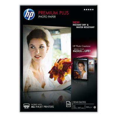 Paber HP CR673A Photo Semy-Glossy A4/20l 300g (asendab C6832A A4 20l 280gr)